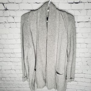 J Crew knitted cardigan with pockets